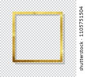 abstract shiny golden frame ... | Shutterstock .eps vector #1105751504