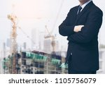 smart  architect   engineer...   Shutterstock . vector #1105756079