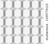 gray seamless pattern with... | Shutterstock .eps vector #1105774115