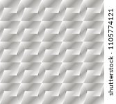 gray seamless pattern with... | Shutterstock .eps vector #1105774121