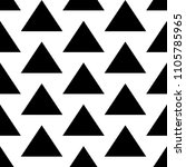 triangles. pyramid backdrop.... | Shutterstock .eps vector #1105785965