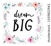 unique hand drawn lettering ...   Shutterstock .eps vector #1105822961