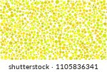 abstract background of circles... | Shutterstock .eps vector #1105836341