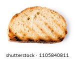 slices toast bread isolated on... | Shutterstock . vector #1105840811