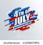 banner for independence day of... | Shutterstock .eps vector #1105847891