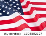 flag of united states of... | Shutterstock . vector #1105852127