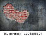 abstract beautiful brown... | Shutterstock . vector #1105855829