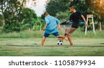 an action sport picture of a... | Shutterstock . vector #1105879934