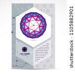communication technologies... | Shutterstock .eps vector #1105882901