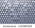 monochrome abstract 3d...   Shutterstock . vector #1105889285