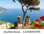 ravello  panorama over the... | Shutterstock . vector #1105895495