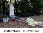 refugees and migrants rest in...   Shutterstock . vector #1105908461