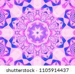abstract background pink... | Shutterstock . vector #1105914437