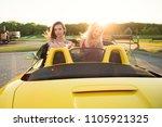 true friendship  charming calm... | Shutterstock . vector #1105921325