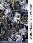 grinding machine parts  | Shutterstock . vector #1105936004