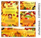 Hello Autumn Posters Or Banner...