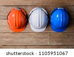 orange  white and blue... | Shutterstock . vector #1105951067