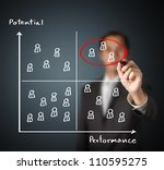 human resource manager... | Shutterstock . vector #110595275