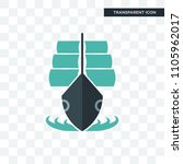 tall ship vector icon isolated...   Shutterstock .eps vector #1105962017