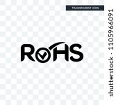rohs vector icon isolated on... | Shutterstock .eps vector #1105966091