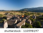 small town of garde guerin in... | Shutterstock . vector #110598197