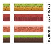 seamless landscape elements for ...