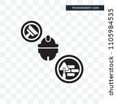 builder vector icon isolated on ... | Shutterstock .eps vector #1105984535