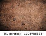 old grunge dark textured wooden ... | Shutterstock . vector #1105988885