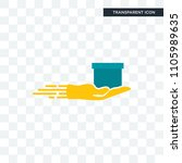 cash on delivery vector icon... | Shutterstock .eps vector #1105989635