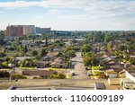 residential area of anaheim ... | Shutterstock . vector #1106009189