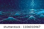 Vector Large Ocean Waves And...