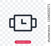 waiting vector icon isolated on ...   Shutterstock .eps vector #1106020271