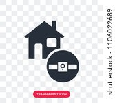 smartwatch vector icon isolated ... | Shutterstock .eps vector #1106022689