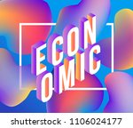 economic gradient isometric... | Shutterstock .eps vector #1106024177