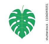 nature   plant   monstera... | Shutterstock .eps vector #1106045051