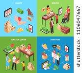 charity 2x2  design concept... | Shutterstock .eps vector #1106047667