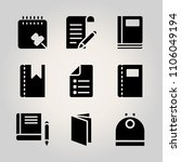 basic icon set. disposal ... | Shutterstock .eps vector #1106049194