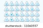 web buttons | Shutterstock .eps vector #11060557