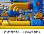 gas industry  gas transport... | Shutterstock . vector #1106065841