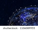 global network concept   this... | Shutterstock . vector #1106089955