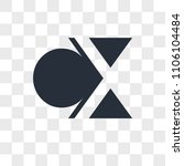 cx xc vector icon isolated on... | Shutterstock .eps vector #1106104484