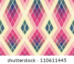 abstract retro background color ... | Shutterstock . vector #110611445