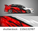 car decal vector  graphic...   Shutterstock .eps vector #1106132987