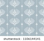 flower geometric pattern.... | Shutterstock .eps vector #1106144141