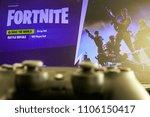 kaunas  lithuania   june 5 ... | Shutterstock . vector #1106150417