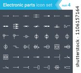 electric and electronic icons ... | Shutterstock .eps vector #1106157164