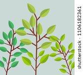trees vector illustration | Shutterstock .eps vector #1106182361