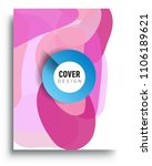 abstract colorful background... | Shutterstock .eps vector #1106189621