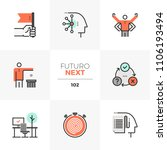 Modern Flat Icons Set Of...