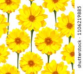 seamless pattern with... | Shutterstock . vector #1106219885